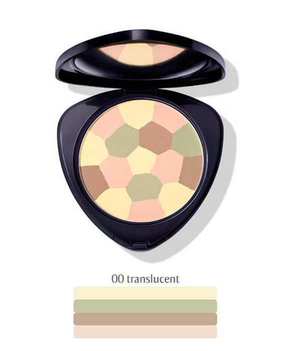 Dr. Hauschka Colour Correcting Powder - CC-puuteri, 00 Translucent