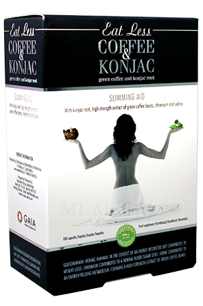 Eat Less Coffee & Konjac 180 kaps.