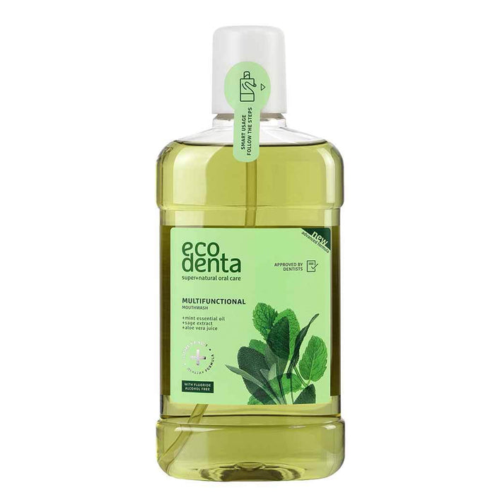 Ecodenta Multifunctional Mouthwash 500 ml - Suuvesi