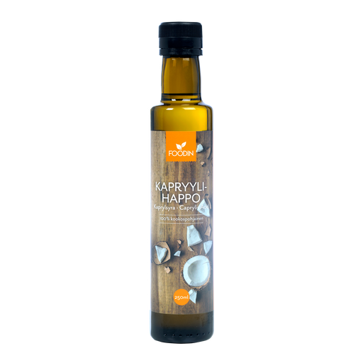 Foodin Kapryylihappo 250 ml