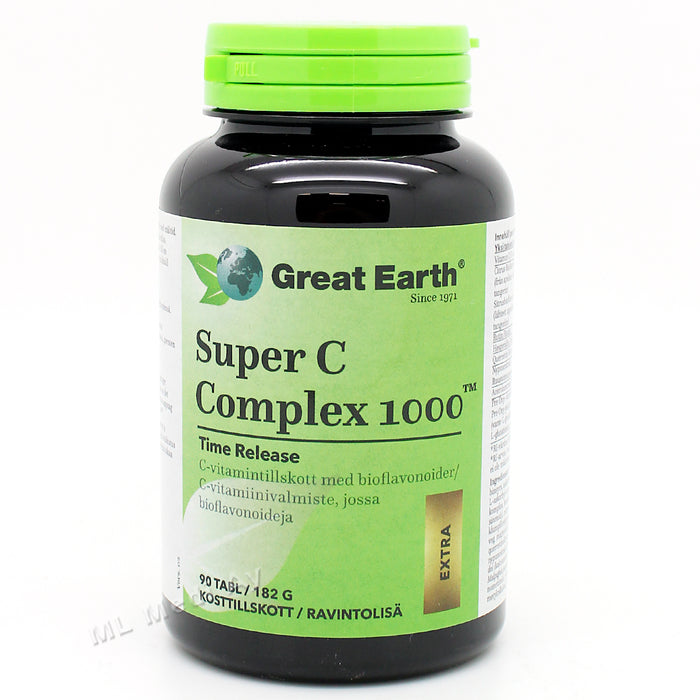 Great Earth Super C Complex 1000 - poisto