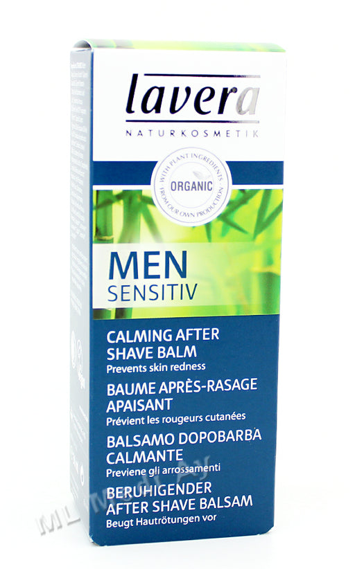 Lavera Men Sensitiv Calming After Shave Balsam - parranajon jälkeen