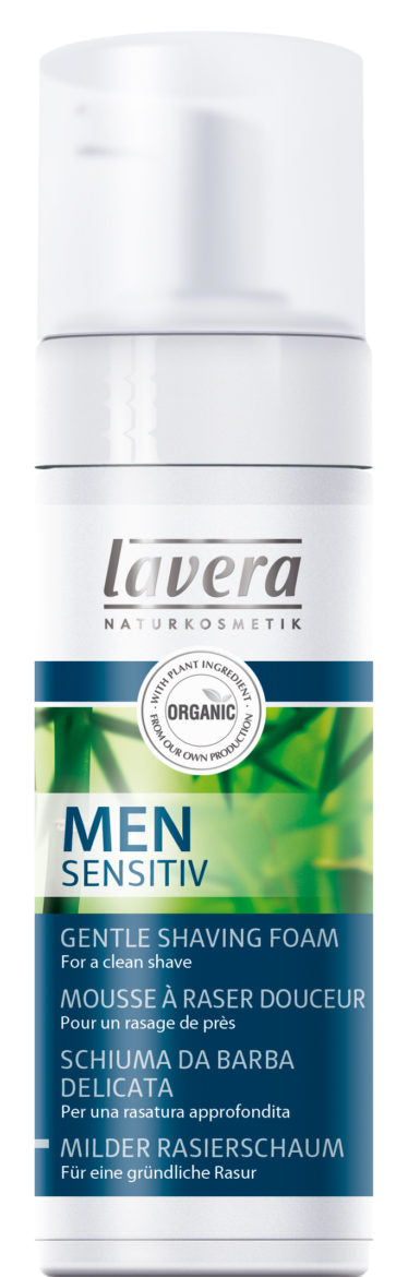 Lavera Men Sensitiv Gentle Shaving Foam - partavaahto