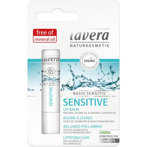Lavera Basis Sensitiv Sensitive Lip Balm - huulivoide