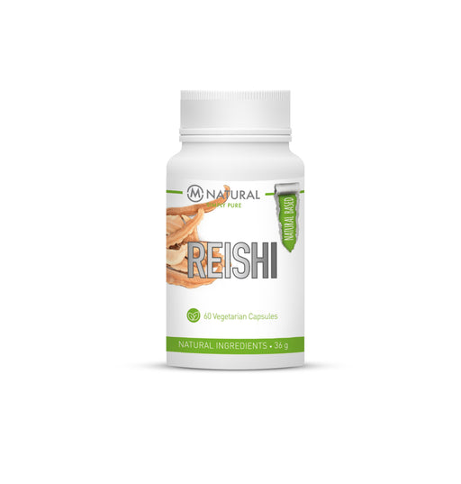 M-Natural Reishi 60 kaps. - poistuu