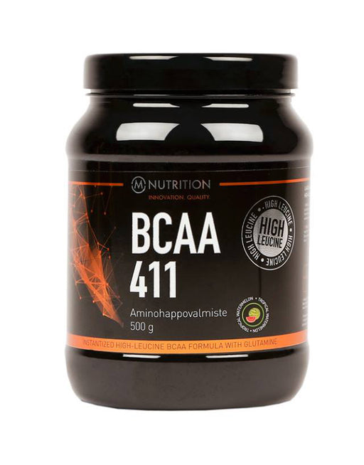 M-Nutrition BCAA 411 Tropical Watermelon - Aminohappojauhe 500 g