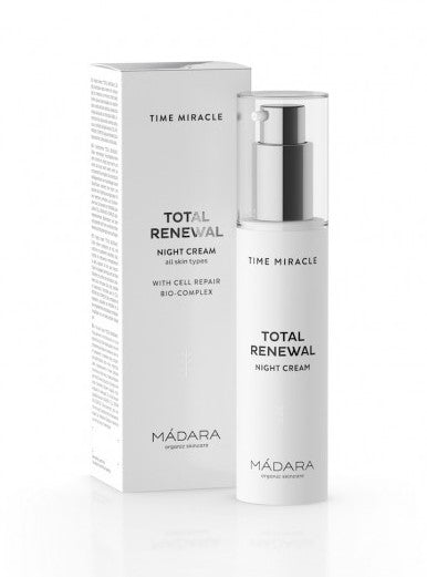 Mádara Time Miracle Total Renewal Night Cream - Yövoide