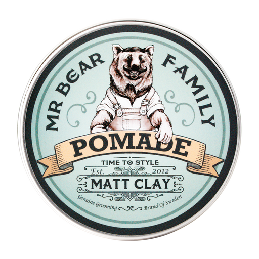 Mr Bear Pomade Matt Clay 100ml - hiusvaha