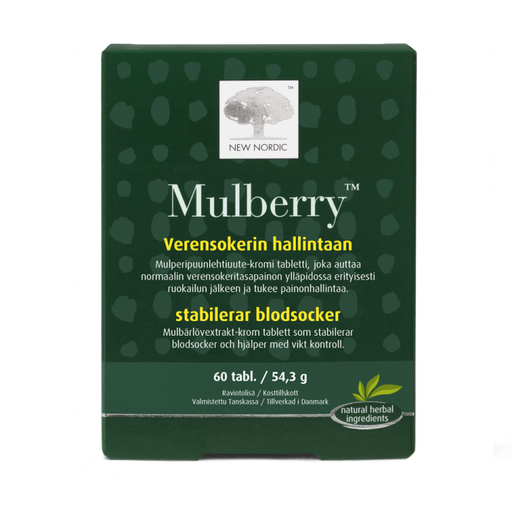New Nordic Mulberry 60 tabl.