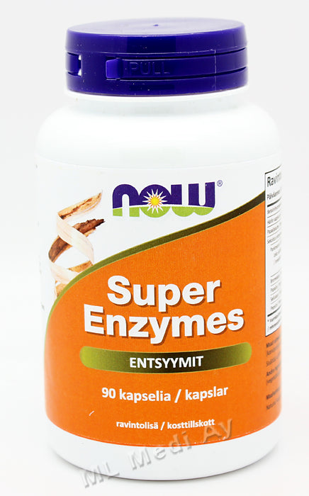 Now Foods Super Enzymes entsyymit