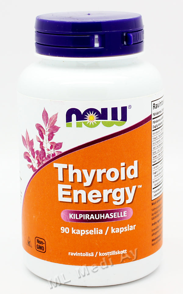 Now Foods Thyroid Energy kilpirauhaselle