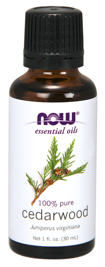 Now Foods Cedarwood Oil - Eteerinen Seetripuuöljy 30 ml