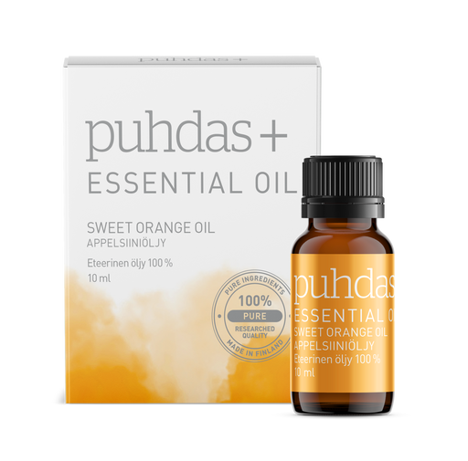 Puhdas+ Essential Oil Sweet Orange Oil 10 ml - appelsiiniöljy