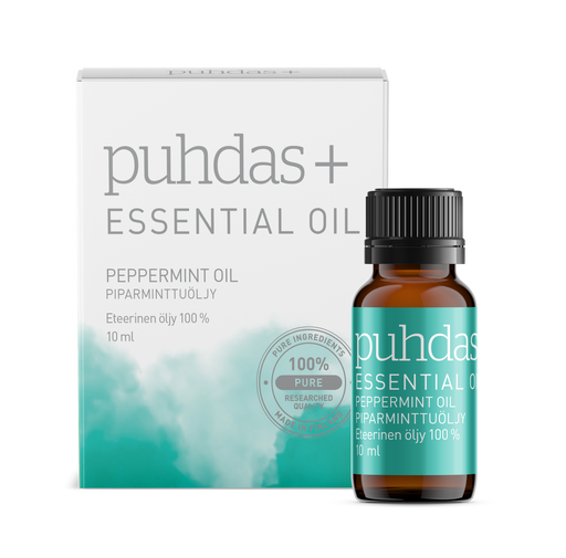 Puhdas+ Essential Oil Peppermint 10 ml - piparminttuöljy