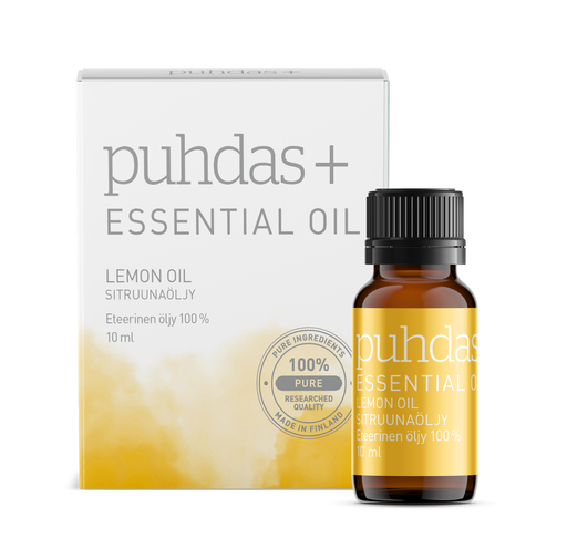 Puhdas+ Essential Oil Lemon Oil 10 ml - sitruunaöljy