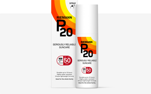 P20 Riemann Aurinkosuojaspray SPF 50 high 100 ml