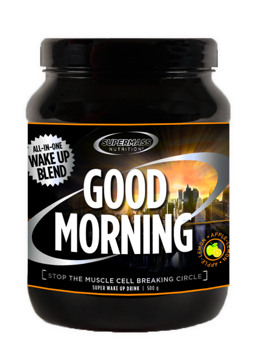 Supermass Nutrition Good Morning Apple-Lemon aamujuoma 500 g