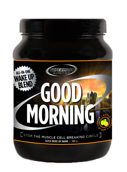Supermass Nutrition Good Morning Apple-Lemon aamujuoma 500 g - erä