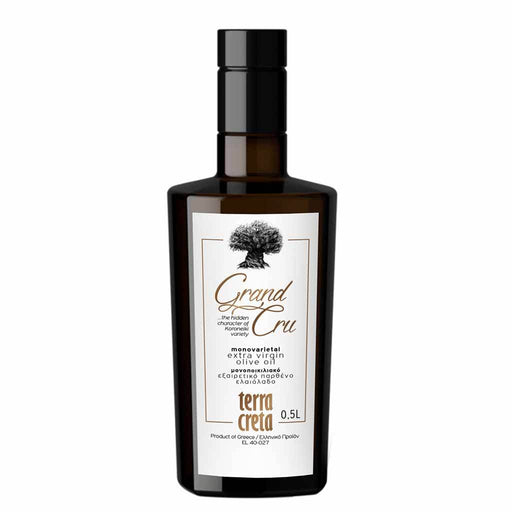 Terra Creta Grand Cru Extra Virgin Oil 500 ml