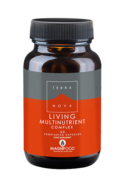 Terranova Living Multinutrient Complex 50 kaps. - monivitamiini - poisto