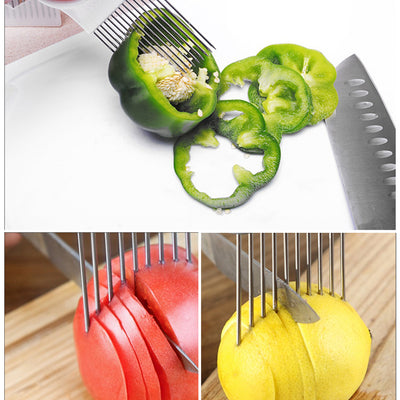 Handy Stainless Steel Onion Holder