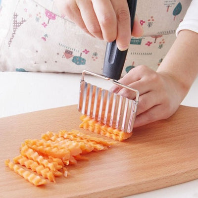 Stainless Steel Wavy Potato Cutter
