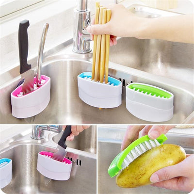 Multi-function Vegetable/Fruits Cleaning Brush