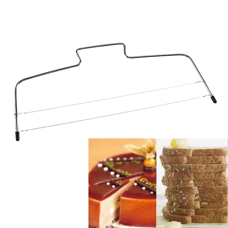 1Pc Adjustable Stainless Steel  Wire Cake Leveler
