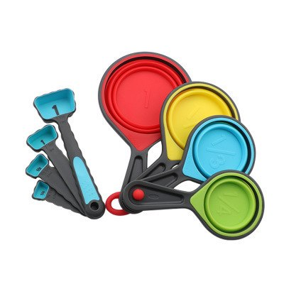 Silicone Collapsible Measuring Cups/Spoon Sets