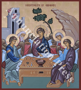Hospitality of Abraham Icon 2