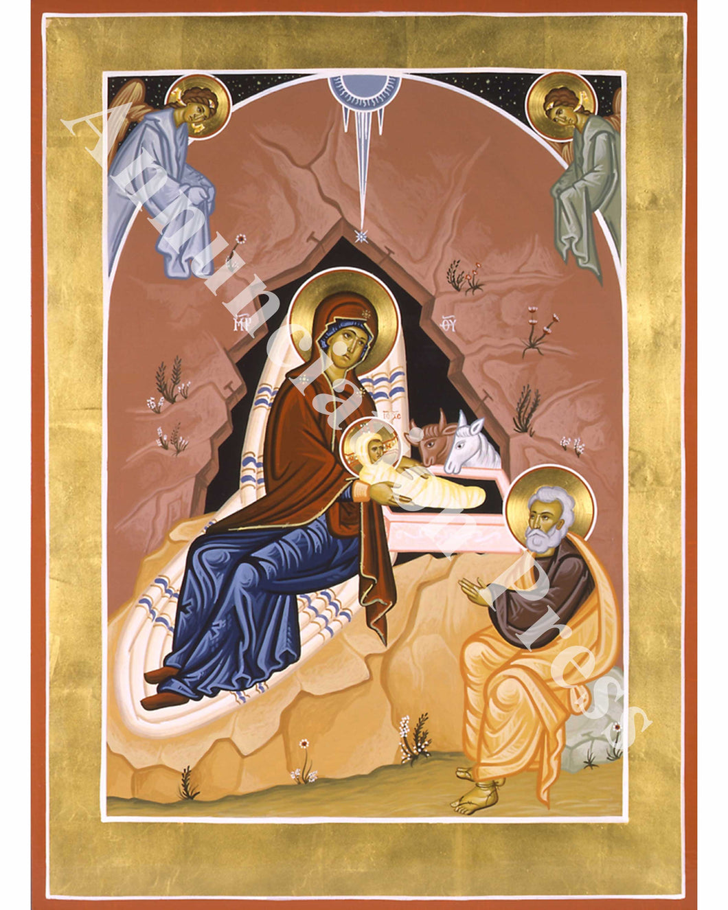 Nativity of Christ Icon 1