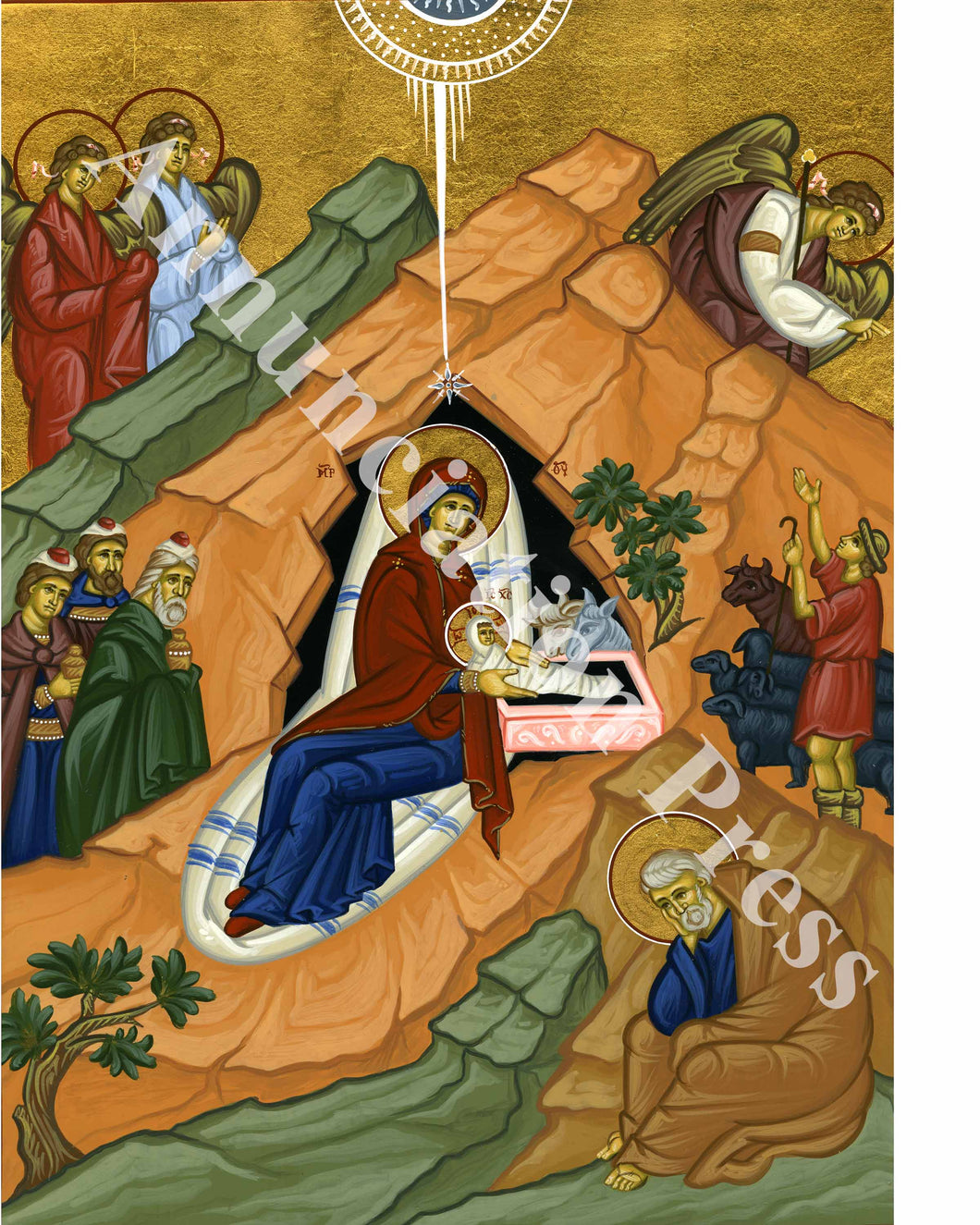 Nativity of Christ Icon 3