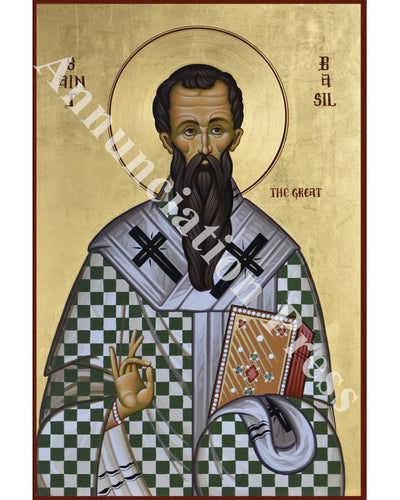 Saint Basil the Great Icon