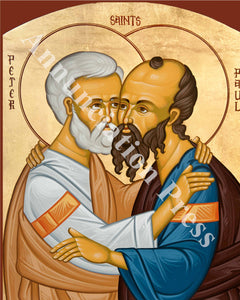 Saints Peter and Paul Icon