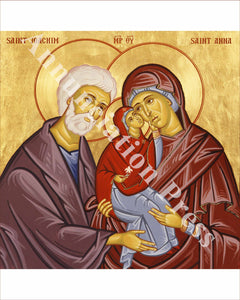 Saints Joachim, Anna and Virgin