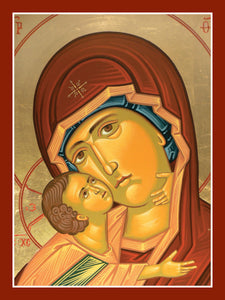 "Virgin and Child ""Sweet Kissing"" Cards (Blank Inside; Box of 20)"
