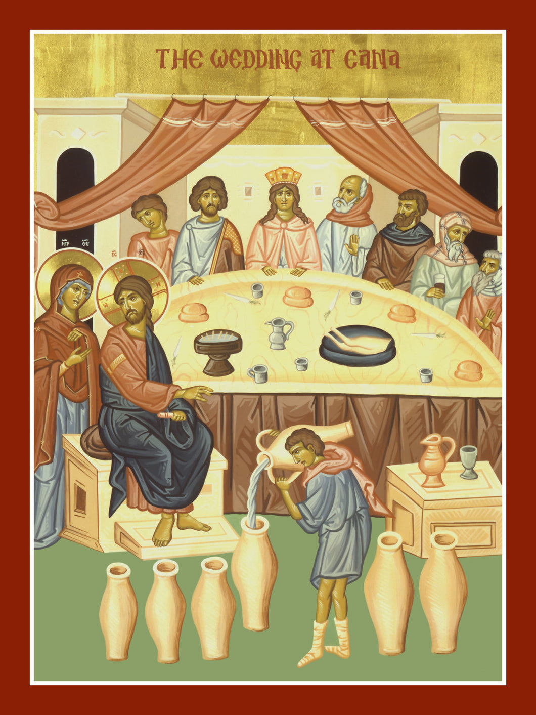 Wedding at Cana Icon Cards (Blank Inside; Box of 20)