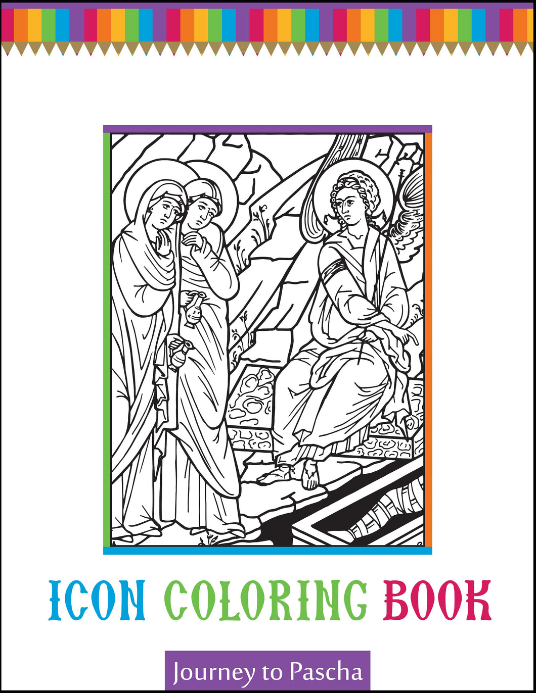 Journey to Pascha Icon Coloring Book