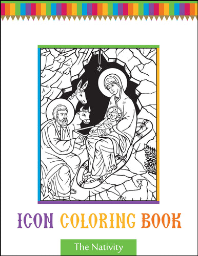 The Nativity Icon Coloring Book