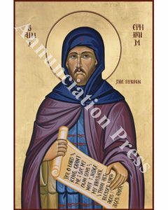 Saint Ephraim the Syrian Icon