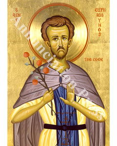 Saint Euphrosynos Icon