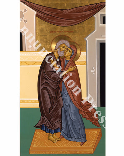 Saints Joachim and Anna Icon