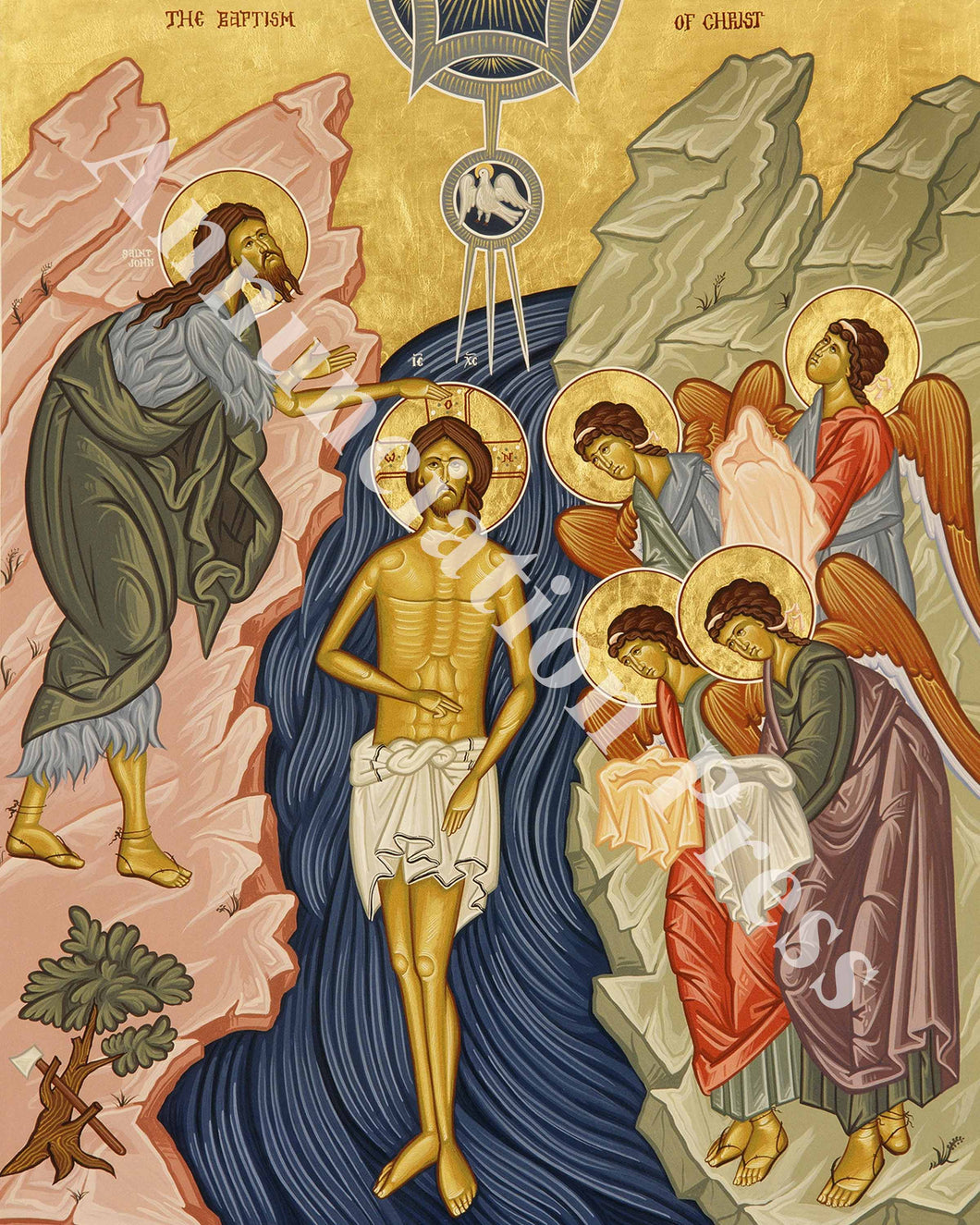 Theophany (Baptism of Our Lord) Icon