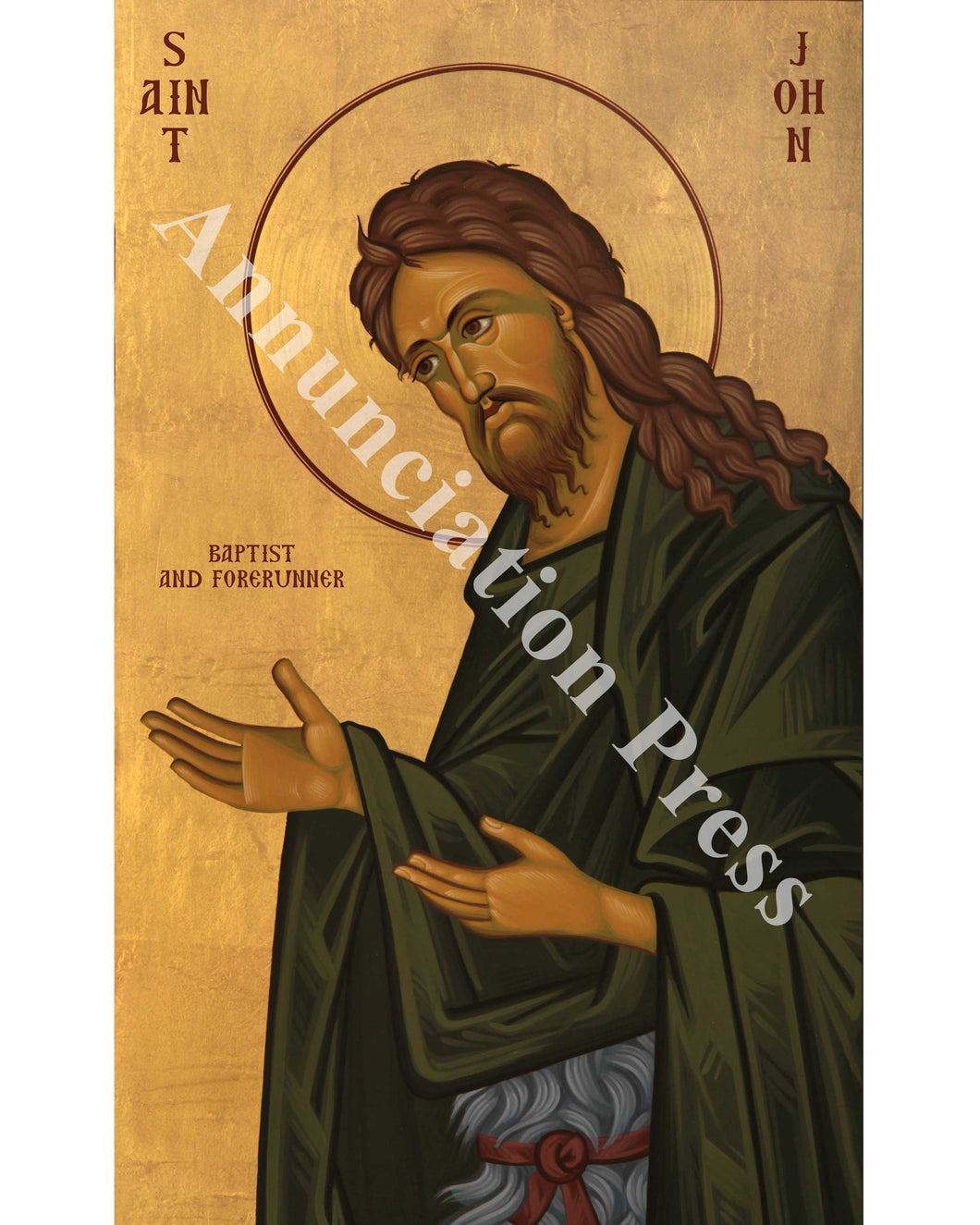 John the Baptist Icon 2