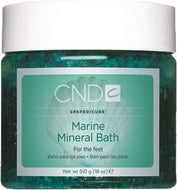 CND - Spapedicure Marine Mineral Bath 18 oz, Spa - CND, Sleek Nail