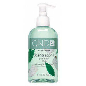 CND - Scentsations Birch & Mint Wash 8.3 oz