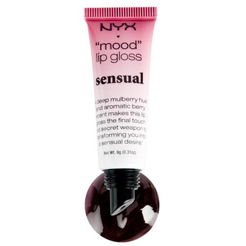 NYX - Mood Lip Gloss -Sensual - MLG03, Lips - NYX Cosmetics, Sleek Nail