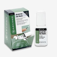 IBD - 5 Second Brush-On Gel Resin (0.20 Oz), Acrylic Liquid - IBD, Sleek Nail