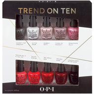 Trend on Ten 10 pc. Mini Pack, Kit - OPI, Sleek Nail