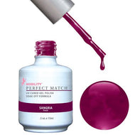 LeChat Perfect Match Gel / Lacquer Combo - Sangria 0.5 oz - #PMS12, Gel Polish - LeChat, Sleek Nail